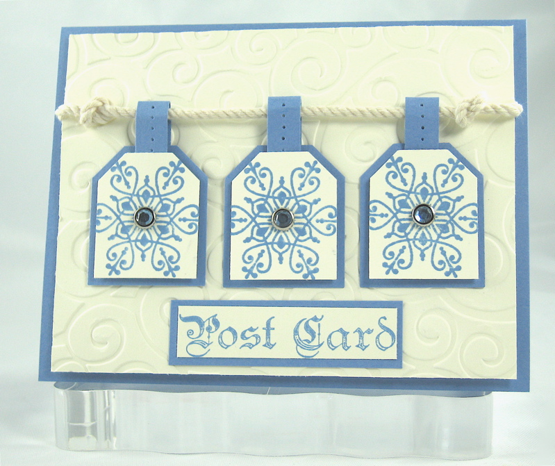 Ivory Post Card
