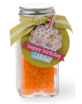 Happy Birthday Jelly Bean Jar