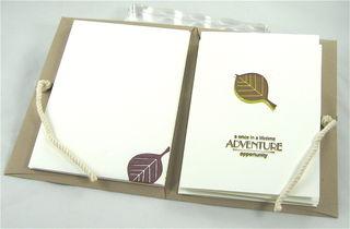 Portfolio Note Cards