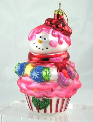 Snowcake Ornament