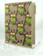Elephant Divider Card