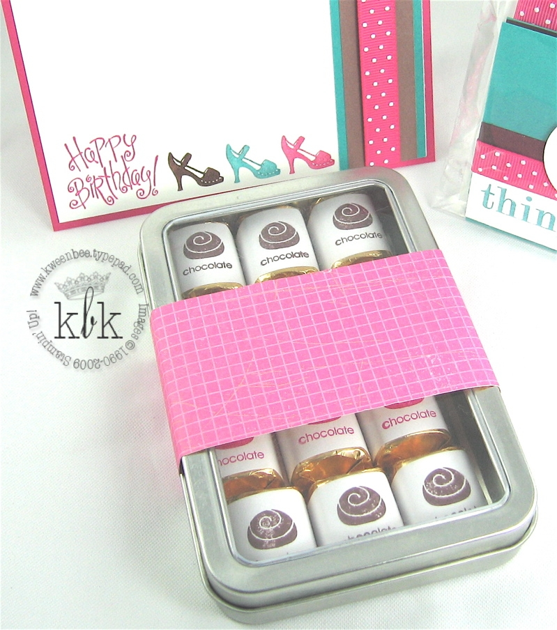 Stampin Up Love Chocolate