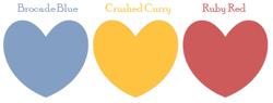 PPA Brocade Curry Ruby