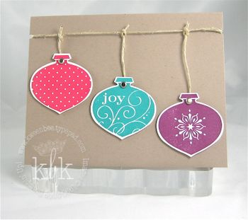Stampin Up Delightful Decorations Joy