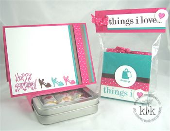 Stampin Up Gift Set for Jessica