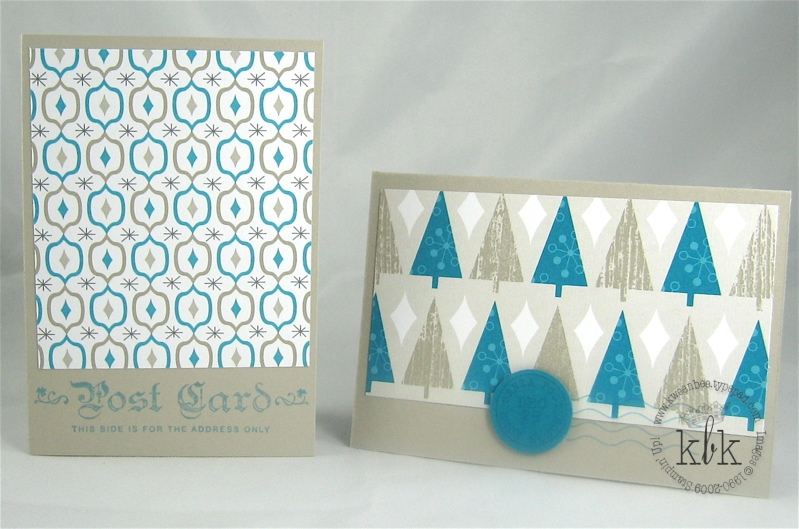 Post Card in Teal