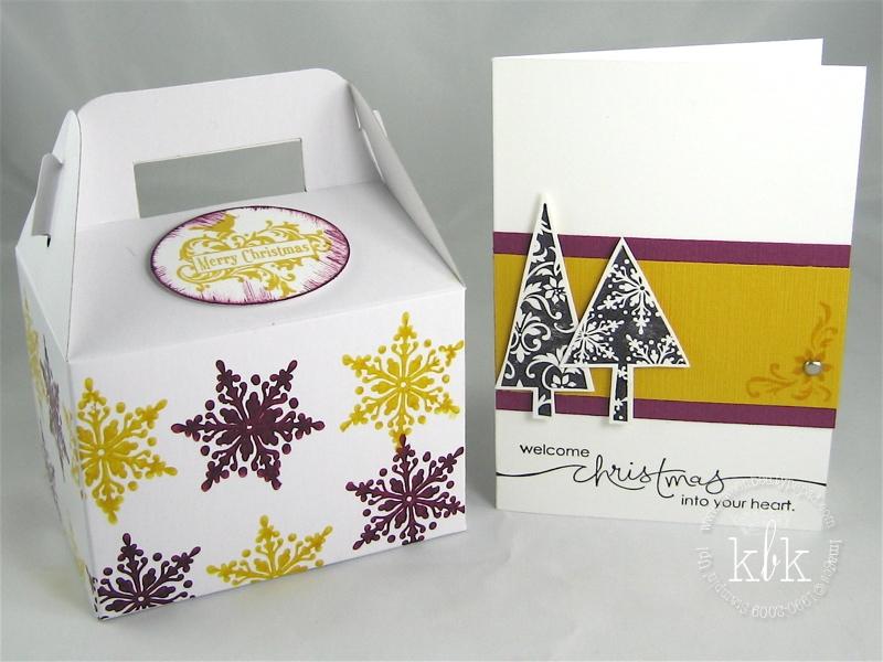 Mod Christmas w Card