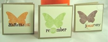 Butterfly Cards 1