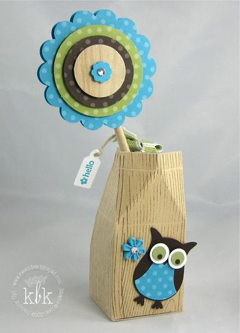 Owl Carton