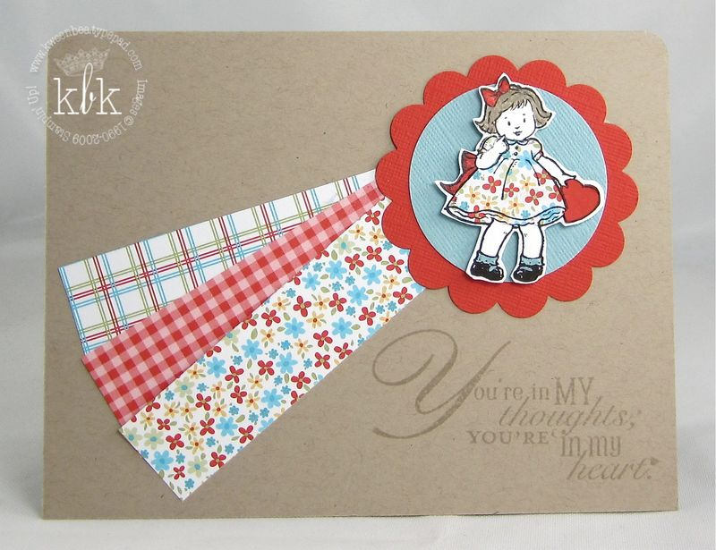Paper Pieced Girl
