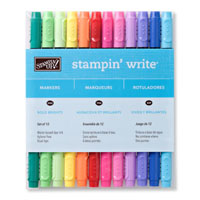 Bold Brights Stampin' Write Markers - by Stampin' Up!