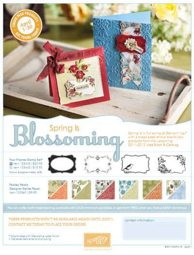 Spring is Blossoming Promo