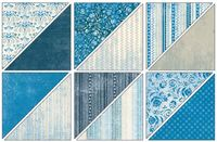 Blueberry Crisp Designer Series Paper - by Stampin' Up!