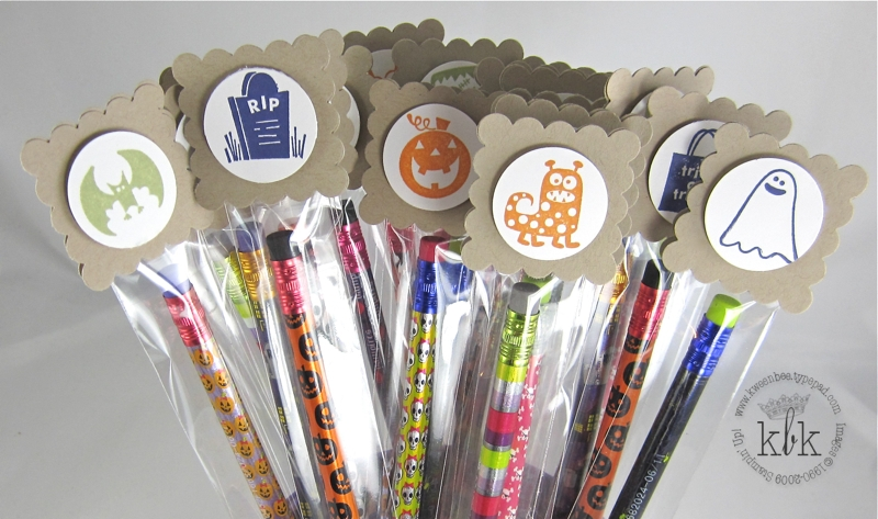 Pencil Toppers Close Up
