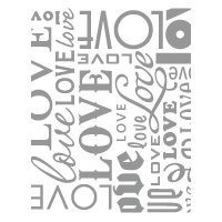 Lots of Love Letterpress Plates - by Stampin' Up!